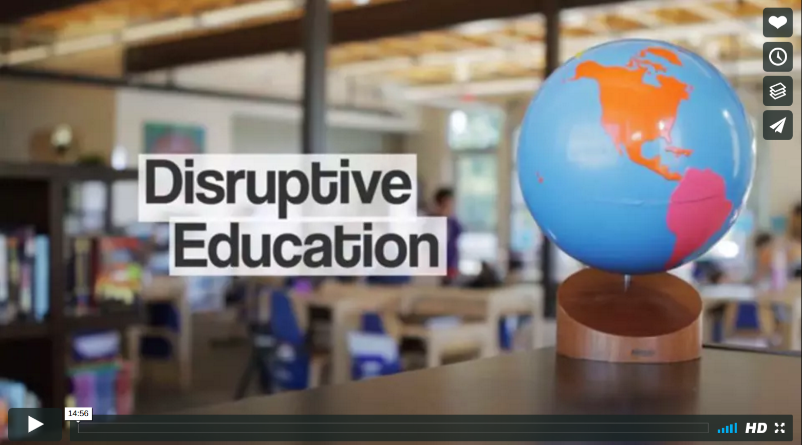 Disruptive Education